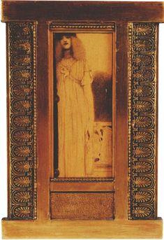 Standing Woman by Fernand Khnopff Art Nouveau, Caspar David Friedrich, Yellow Art, Sculpture, Artist Art, Figurative Art, Contemporary Artists, Great Artists, Mythology