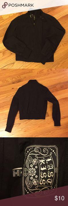Last Kiss Black Short Jacket Last Kiss Black Short Jacket. Size medium. Jackets & Coats