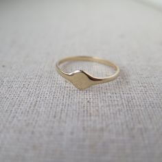 The Baby Signet ring