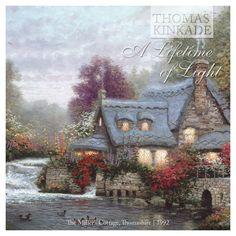The Miller's Cottage, Thomashire 1992 by Thomas Kinkade #thomaskinkade #kinkade