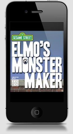 Best Kids Apps iPhone Apps for Kids — Elmo's Monster Maker