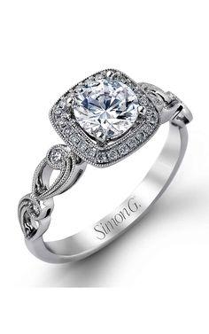 Shop Simon G TR526 Engagement rings | Bailey Banks & Biddle