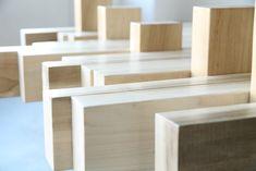OOTO | Tulip wood table | by Leon van Zanten