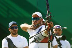 Day 1: Archery Men's Team - Pierre Plihon of France