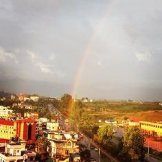 Rainbow as seen from my office!