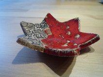 Keramikstern-Schmuckschale