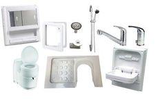 Campervan/Motorhome Magnum Shower Room Kit A ( Left Hand, C220CS Toilet)