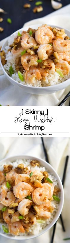 Best Skinny Honey Walnut Shrimp Recipe | Healthy, Easy, Paleo, Copycat, Sauce, Gluten Free, How to Make, Light
