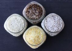 Giftable Recipes: Flavored Finishing Sea Salts (Citrus, Vanilla, Sezchuan Peppercorn, and Lavender) Chutney, Homemade Spices, Homemade Seasonings, No Salt Recipes, Free Recipes, Healthy Recipes, Spice Mixes, Spice Blends, Seasoning Mixes