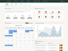 TemplateVamp is a responsive Bootstrap admin template with a minimal look