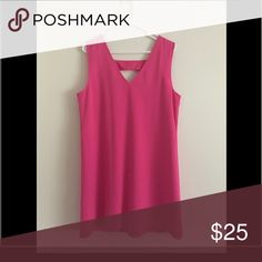 Pink dress Banana Republic Factory Dress Short and v back detail never worn Banana Republic Dresses