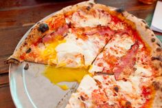 Pizza for brunch at Roberta's