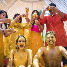 30 Best Haldi Ceremony Photos From Indian Weddings ShaadiWish Blog