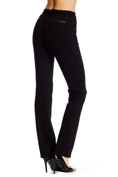 Faux Leather Trim Ryan Pant by NYDJ on @HauteLook