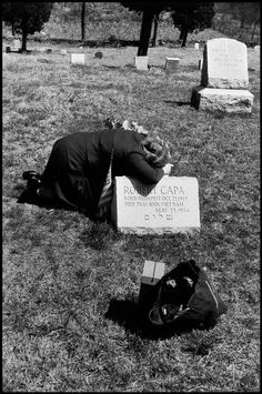 Elliott Erwitt USA. Armonk, New York. 1954. Robert CAPA's mother, Julia.