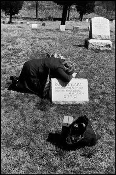 Elliott Erwitt USA. Armonk, New York. 1954. Robert CAPA's mother, Julia.