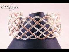 Close wire woven bracelet - YouTube