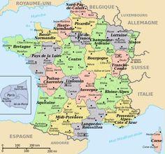 Departementen in Frankrijk