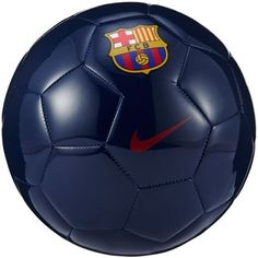 Nike FC Barcelona Supporters Soccer Ball 2016/17 TEAM PRIDE. LASTING PLAY. The FC Barcelona Supporters Soccer Ball features durable materials and signature graphics for long-lasting play and team prid