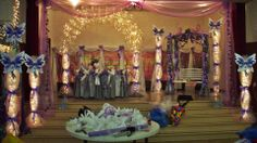 Fairy Themed Sweet 16 Hall For a Client All Hall Decor By Me Sweet Skills By Edgar!
