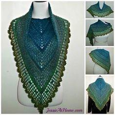 100 Free Crochet Scarf Patterns: St. Patrick's Day Crochet Scarf Pattern