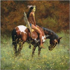 Howard Terpning limited edition prints, canvases, posters and books depicting Native American culture and heritage. Native American Warrior, Native American History, Native Indian, Native Art, American Indian Art, American Indians, American Pride, Native American Paintings, Arte Tribal