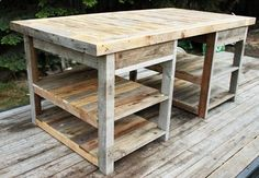 This would be a great cutting table for my sewing room.