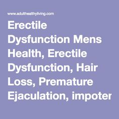 Erectile Dysfunction Mens Health, Erectile Dysfunction, Hair Loss, Premature Ejaculation, impotence, priligy, viagra, Sildenafil, Levitra, Spedra, Impotence Trial Pack, Cialis Once a Day, Cialis, Propecia
