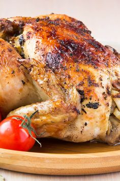 Recipe including course(s): Entrée; and ingredients: black pepper, cayenne pepper, chicken, dried basil, dried oregano, olive oil, paprika, sea salt