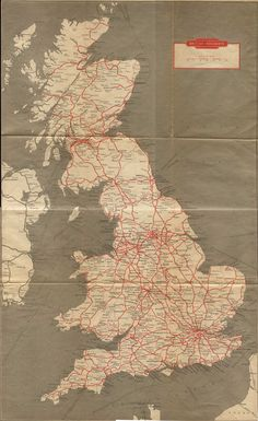 The Beeching Report Map Of Britain, Great Britain, Old Maps, Antique Maps, Train Route Map, Advanced Higher Art, Uk History, Train Travel, Travel Uk
