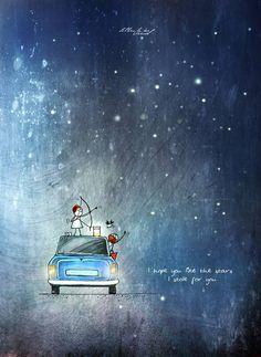 Ek dum bright aur beautiful just like you leke aaunga aaj 🙃😆 Love Cartoon Couple, Cute Couple Art, Couple Illustration, Illustration Art, Imagination Art, Art Prints Quotes, Cute Cartoon Wallpapers, Love Drawings, Love Images