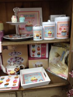 Cupcake canisters