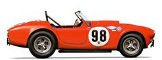 1963 Shelby 289 Factory Race Car, driven by Bob Bondurant & Ken Miles to be auctioned at the Pebble Beach Auctions