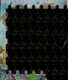 Foto animata: attraverso un elaborioso processo MikiG ha animato questa immagnie puzzle