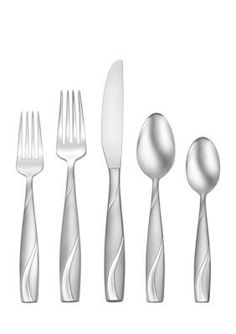 Oneida Silva 42-Piece Stainless Steel Flatware Set - Stainless - One Size