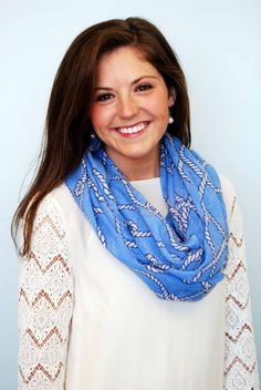 Nautical Infinity Scarf and other adorable outfits and accessories