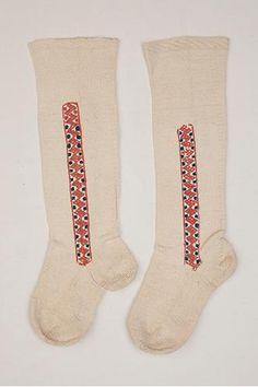 naisten sukat, vikkelsukat, polvisukat Venäjä, Pohjois-Inkeri, Tverin Karjala, Länsi-Inkeri