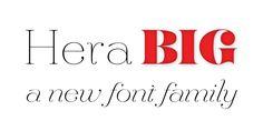 Hera Big - Webfont & Desktop font « MyFonts
