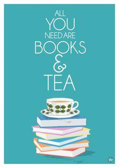 books & tea - my perfect getaway!