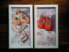 Lulu's shoes Oil painting