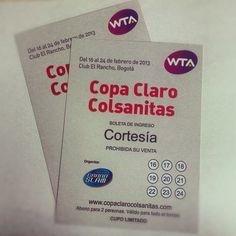 Este sábado comenzará @CopaWTABogota , los próximos días estaremos rifando pases dobles, ¡No se lo pierdan Tumix fanáticos! #FrescuraQueDura