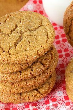 Crinkly Crackly Biscoff Toffee Cookies