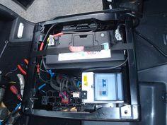 Caravelle Startline - VW T4 Forum - VW T5 Forum. Battery under cab seat