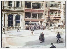 Chop Suey, New York City, : Colorization Colorized Photos, Chop Suey, 1920s, New York City, Street View, Black And White, Color Pictures, Black White, Blanco Y Negro