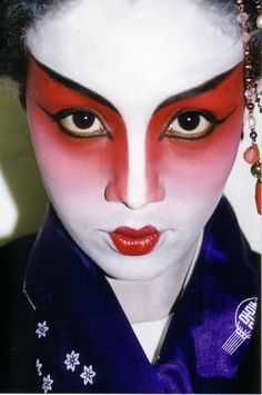 theatrical makeup - Google Search                                                                                                                                                                                 More