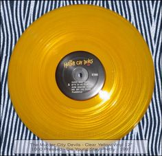 Murder City Devils (Yellow Vinyl, 1000 Made, Rare Vinyl, Die Young, Soundtrack, Devil, Yellow, City, Pretty, Demons, Cities
