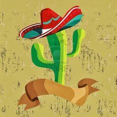 nopales mexicanos dibujo - Buscar con Google