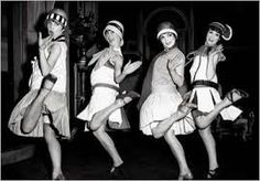 Not just ankle flashing for these flappers.