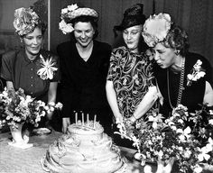 celebrate birthdays - with cake! Birthday Greetings Friend, Today Is Your Birthday, Happy Birthday Vintage, Classic Hats, Hat Shop, Cool Hats, Madame, Old Pictures, Vintage Children