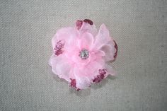 Small pink childs brooch or slide